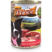 Prince Premium koirille Beef & Buffalo 400g
