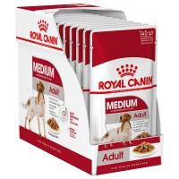 Royal Canin säilykeruoka Medium Adult 11-25kg 10x140g