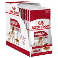 Royal Canin säilykeruoka Medium Adult 11-25kg 10x140g