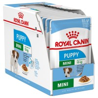 Royal Canin säilykeruoka Mini Puppy 1-10kg 12x85g