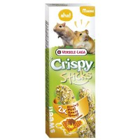 Sticks Crispy hunaja hamstereille ja gerbiileille 2kpl (2*55g)