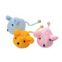 Knitted Mice kissanleluhiiri