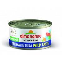 Almo Nature Cats Wild Taste Natural keltaevätonnikala 70g