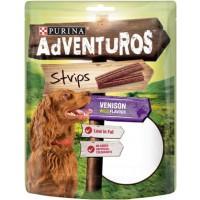 AdVENTuROS 90g Strips metsäkauriin makuinen makupala koiralle