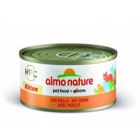 Almo Nature Kitten Chicken 70g