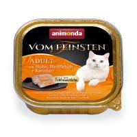 Animonda vF herkkutäytteellä kana, pihvi + porkkanat 6*100g