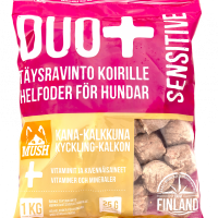 DUO+ Sensitive Kana-Kalkkuna 1kg (Mush)
