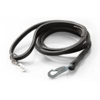 Hurtta Leather musta näyttelytalutin BGB  8mm x 130cm