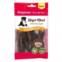 High Meat Tasty Sausages with Chicken 97% lihaa 80g