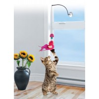 Kong Connets lasiin kiinnitettävä kissan huiskulelu 30cm