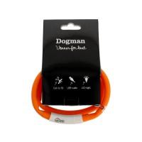 LED-valopanta silikoni oranssi, ladattava (pituus max. 65cm)