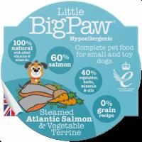 LBP Traditional Atlanticsalmon & Vegetable dinner for dogs 85g