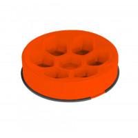 M-PETS Cavity ahmimisenestokuppi pyöreä oranssi