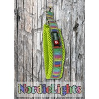 Nordic Lights Mesh panta, lime